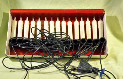 Lichterkette mit 15 Kerzen a. 16 Volt, 1,2 Watt - Achim