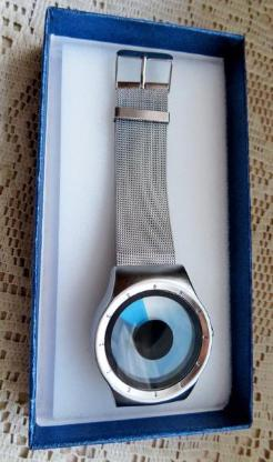 """Top """"Design""""-Armbanduhr mit Milanaise-Armband, ungetragen, neu, ohne Anleitung in der OVP! - Diepholz"""