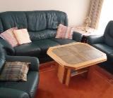 Couch aus Leder, neuwertig - Syke