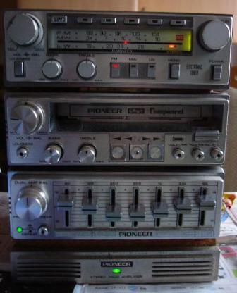 PIONEER - Car Hifi - Vintage 80er - Weyhe