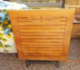 Gartentisch Holz/Metallgestell - Syke