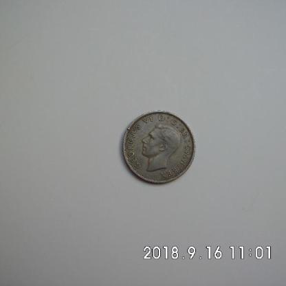George VI two Shilling 1947 - Bremen