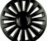 Radkappe Radzierblende universal 1xStück 16Zoll Luxury in schwarz - Verden (Aller)