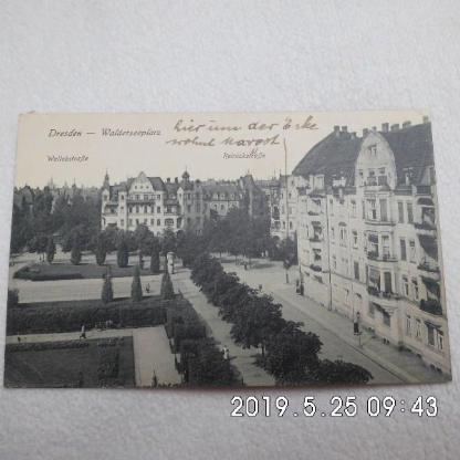 Feldpostkarte 1943 - Bremen