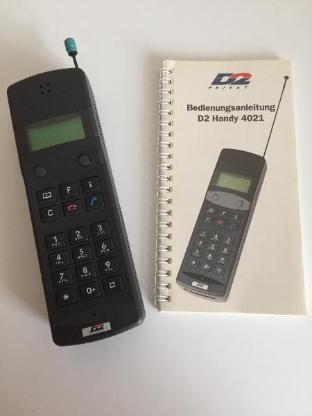 Siemens/Mannesmann D2 Handy -Sammlerstück- - Bremen