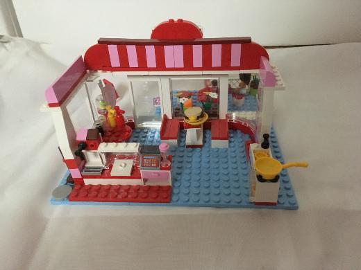 Lego friends Cafe, sehr guter Zustand