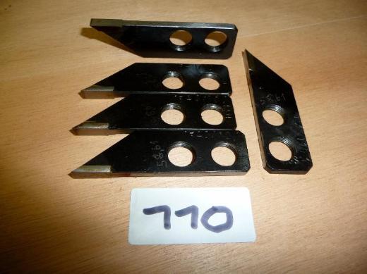 Div. LEITZ-EXAKT-HSS-Fräsmesser für Fenster/Türen-Fertigung,gebraucht - Ritterhude