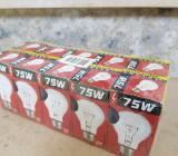 Glühbirnen 75 Watt E27 Lampe - Weyhe