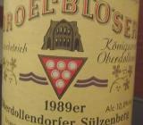 1989er Wein - Bremen