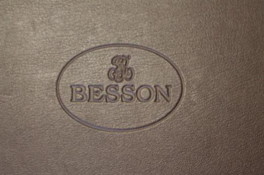 Besson B - Kornett versilbert inkl. Koffer und Mundstück - Bremen Mitte