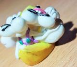 Diddl Entenreiter mit Loch zum aufstecken an Bleistift 2 cm hoch - Verden (Aller)