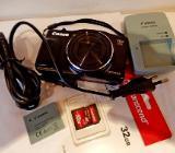 "Gute Digitalkamera ""Canon PowerShot SX710 HS"", 2 Akkus, Netzlade-Station, neue SD-Card, top Zustand! - Diepholz"