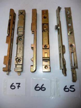 MACO-Drehsperre mit Schlüssel für 4-11mm Falzluft,10388,gelb chrom. - Ritterhude