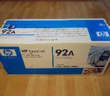 Original HP Toner 92A schwarz für HP LaserJet NEU - Oldenburg (Oldenburg)