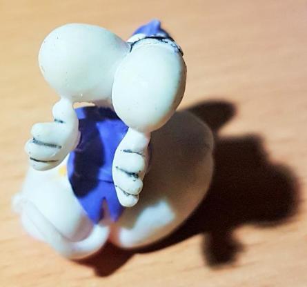 """Diddl Sammelfigur Nr.77 """" Maus mit Pinguin """" 3 cm hoch - Verden (Aller)"""