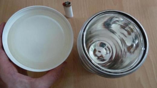 Großer 750ml Thermosbehälter für Suppen, Tee oder Eiswürfel - Worpswede