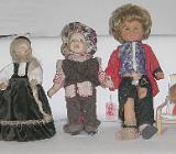 Süße Puppen und ein Puppenstuhl - Bremen