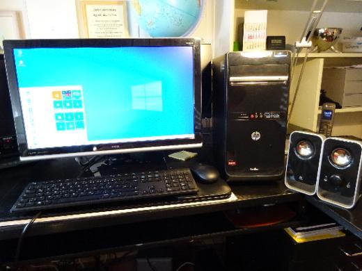 PC-System komplett HP und BENQ - Osterholz-Scharmbeck