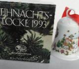 Porzellanglocke Hutschenreuther, Sammelkollektion Weihnachten 1993 - Bremen