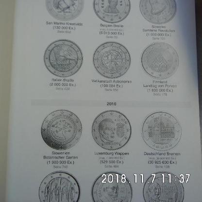 118. 4 Stück 2 Euro Münzen - Bremen Woltmershausen