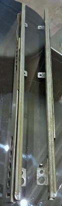 Teleskopschiene Schubladenschiene 27 x 246-500 mm Kugelauszüge - Verden (Aller)