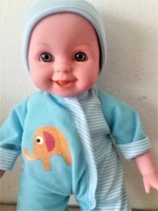 Süße Babypuppe mit Sound - Holdorf