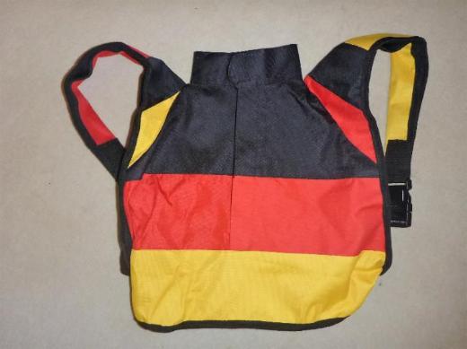 Rucksack in Deutschland-Farben, NEU - Bremen