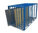 Blechlagerbox / Plattenlagerbox / Tafelregale NEU für Firmen - Wilhelmshaven