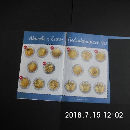 107. 4 Stück 2 Euro Münzen Stempelglanz - Bremen