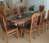 8 Esszimmerstühle in Buche VOLLMASSIV - fast wie neu - Oyten