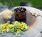 Feuertonne inkl. Feuerplatte Grillplatte - Bremen