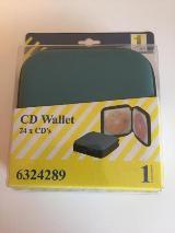 Hochwertige CD/DVD Tasche / Wallet für 20, 24 und 48 CD's -NEU-