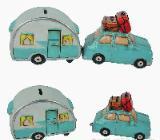Spardose Wohnwagen und Auto - Scheeßel