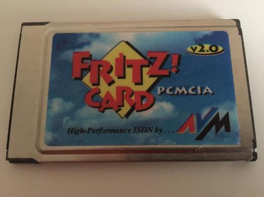 AVM Fritz!Card PCMCIA v2.0 ISDN Karte für Notebook - Bremen