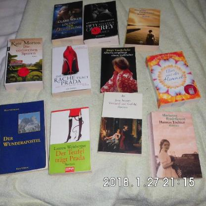 11 Romane 1 mal gelesen - Bremen