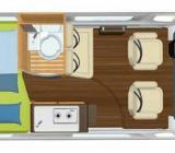 Hymer/Eriba Camper Van Ayers Rock Top Ausstattung - Stuhr