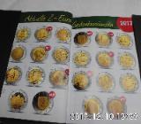 4 Stück 2 Euro Münzen Stempelglanz 58 - Bremen Woltmershausen