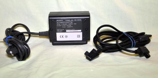 SONY Akku-Ladegerät/Netzteil Mod.  AC-515 - Achim