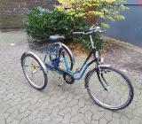 Drei rad fahrrad für Erwachsene. - Bremen
