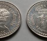 Alte Medaille 10 Jahre Faust 1829 Braunschweig Joh. Wolfgang v. Goethe - Oyten