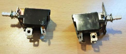 2 x AC 250 V 5 A 4 Pin Löten Push Button Netzschalter KDC-A04-2S - Verden (Aller)