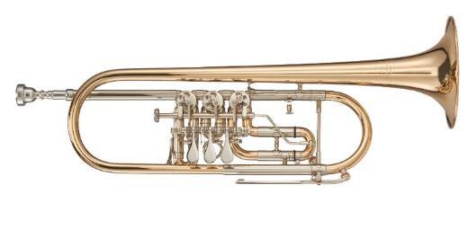 Deutsche Kühnl & Hoyer Konzert - Trompete, Mod. 6010G, Neuware