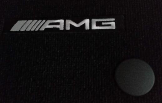 """AMG Fußmatten Satz 2teilig schwarz original MB SLK R172 """"NEU"""" - Verden (Aller)"""