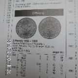 D-Mark 2 Pfennig CU 1950+1958