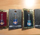 Hard Rock Cafe 3 Core und 1 H R Hotel 3D Gitarren Pin(s) - Weyhe