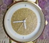 Top! Modische Damen-Armbanduhr, Kunstleder-Armband, ungetragen in der OVP - Diepholz