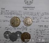 Griechenland alte Drachmen 1922-1930 - Bremen Woltmershausen