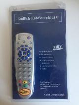 Universal Fernbedienung 3 in 1 Kabel Deutschland