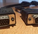 3 x Stück VGA SVGA S-Video S-VHS Chinch Composite Kabel - Verden (Aller)