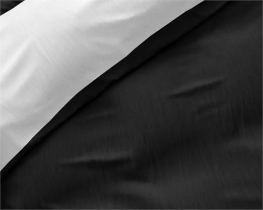 Bettwäsche Twin Face White/Black 140x220 ReVyt - Friesoythe